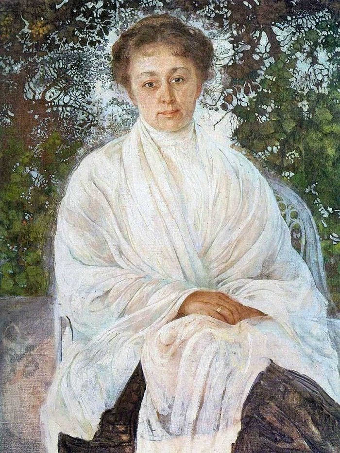 Maria Fyodorovna Andreyeva. 1910
