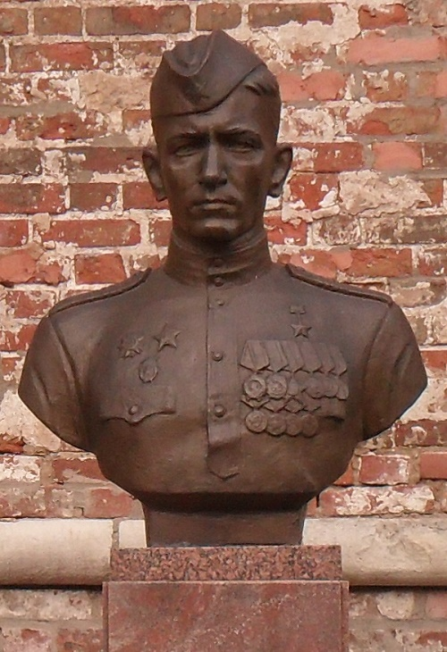Monument of the Hero of the Soviet Union Yegorov (1923-1975)