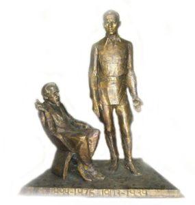My fathers. Bronze. 2008. Soviet sculptor Yuri Chernov