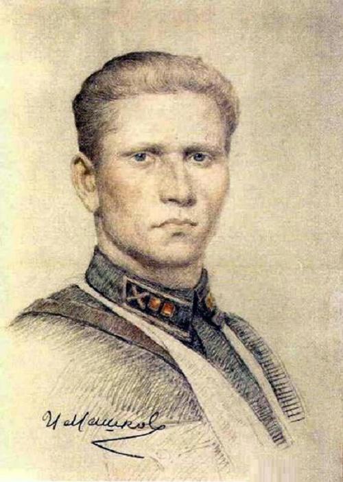 Portrait, 1943. Volgograd Museum of Fine Arts