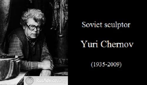 Soviet sculptor Yuri Chernov (1935-2009)