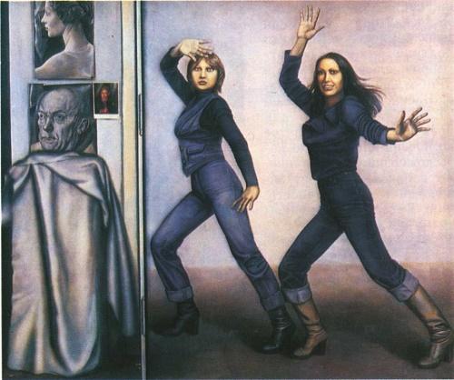 Tatyana Nazarenko. Dance. Oil. 1980