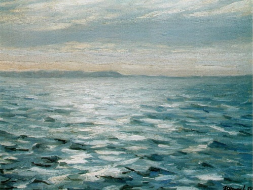 The White Sea. 1954. The property of the artist
