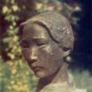 A girl from Altai. 1963. Bronze