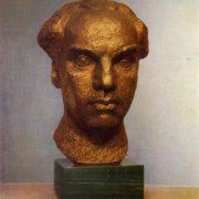 Art critic N.V. Voronov. 1975. Bronze