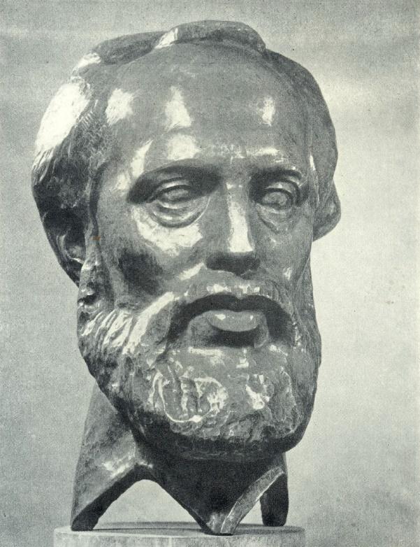Geologist and poet Ernst Portnyagin. 1976. Copper