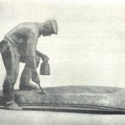 In spring. 1966. Bronze