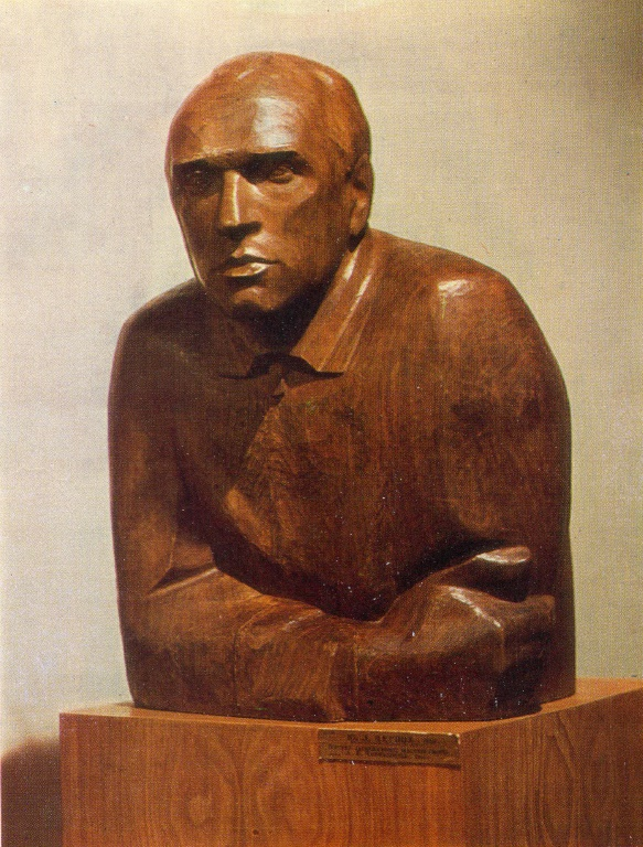 Honored Master of Sports A.I. Chernyshev. 1964. Wood