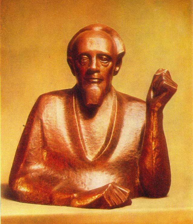 Portrait of L.I. Chernov. 1969. Copper