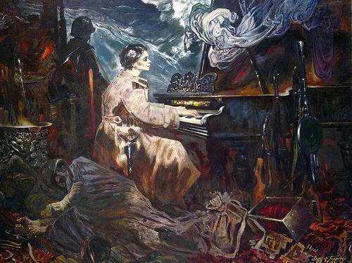 Soviet artist Viktor Ivanovich Tolochko (1922-2006)