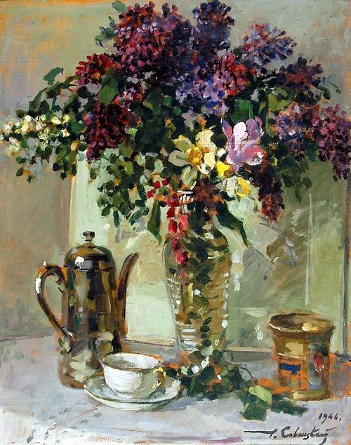 Lilac. 1946
