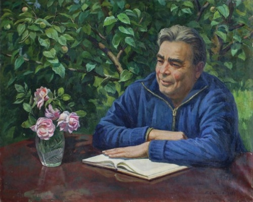 He is always at work. LI Brezhnev. 1981