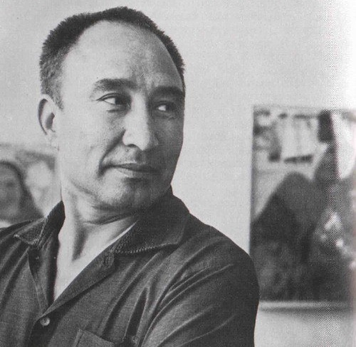 Soviet Turkmen artist Izzat Klychev (October 10, 1923 - January 12, 2006)