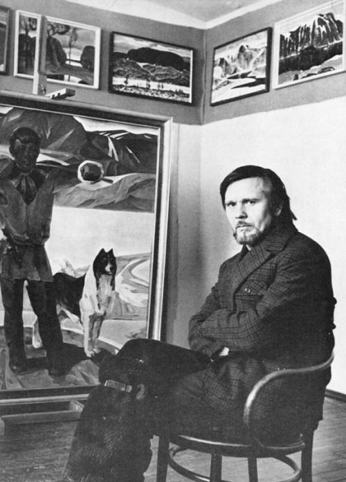Soviet painter Alexandr Andreyevich Shumilkin (born January 1, 1935)