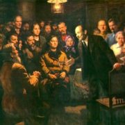 Speech by VI Lenin in front of the peasants of the village of Gorki 9 January 1921. 1981