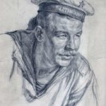 Front-line drawings of Soviet artist Vitaly Davydov