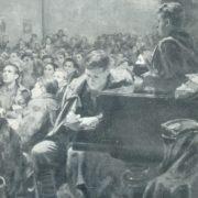 Speech of Lenin at the III Congress of the Komsomol. detail