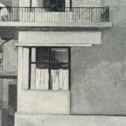 A girl on the balcony. 1964