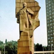 Berlin. Monument to Lenin