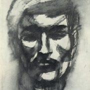 Man's head. 1965