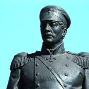 Admiral Nakhimov in Sevastopol. The sculptor Nikolai Tomsky