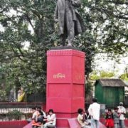 Lenin in Calcutta, India