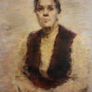 Natalia Ivanovna Andreyeva. 1980. Oil, canvas