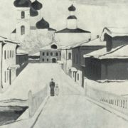 On Chekhov motif. 1968