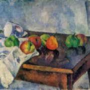 Piotr Konchalovsky. 1876-1956. Still life with fruit. 1916. Oil on canvas