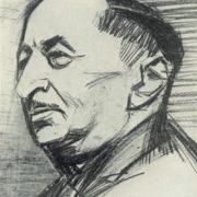 Portrait of I. Nabatov. 1962