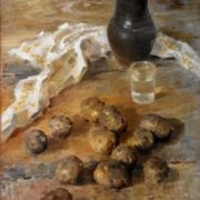 Potato. Vyshny Volchek. 1979. oil on canvas