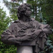 Pushkin monument, 1983
