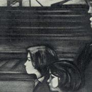 Sholokhov. The destiny of man. Farewell. Illustration. 1964
