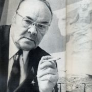 Soviet sculptor Nikolay Tomsky (6 December 1900 – 22 November 1984)