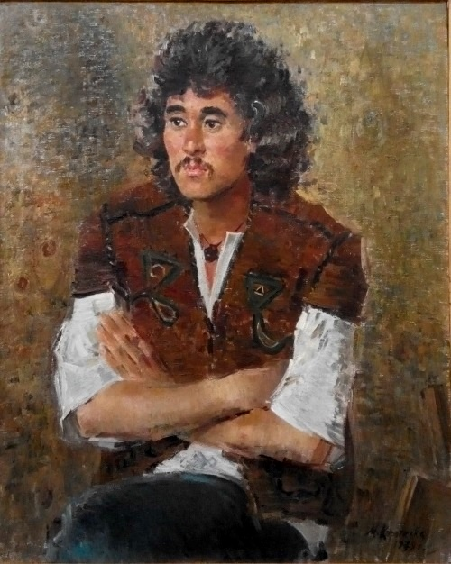 Srazhdin Batyrov. Artist from Daghestan. 1979. Oil on canvas