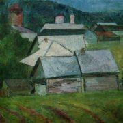 The village of Porechie. 1963