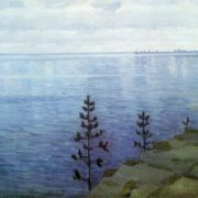 Witold Bialynicki-Birula. 1872-1957. The sea. Oil on canvas