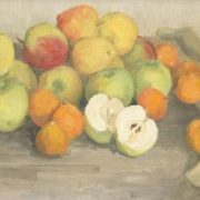 Apples. Still life. 1964. Oil on canvas