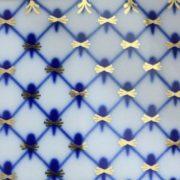 Beautiful pattern - blue cobalt net
