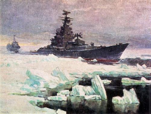 Soviet artist Leonid Baikov 1919-1994