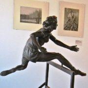 Hurdling. A. Chudina. Bronze. 1952