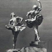 Porcelain figurines of ballet dancers