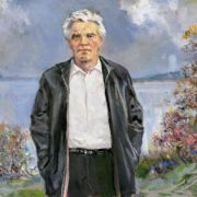 Portrait of V.P. Astafiev