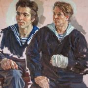 Sailors. Sketch. 1986