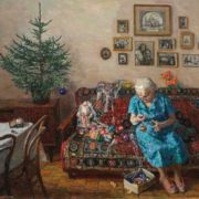 Yegor Zaitsev. Christmas tree. 1996