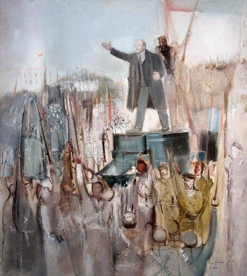 Soviet avant-garde artist Alexander Labas