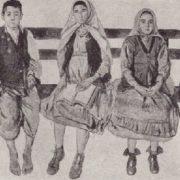 Bashkirs-students. 1933
