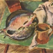 Bream. 1930 National Museum of Fine Arts of AS Pushkin
