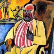 Bull fight lover. Portrait. 1910