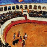 Bullfighting in Seville. 1910